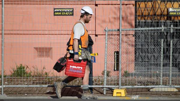Businesses in construction are feeling the most confident about the economy.