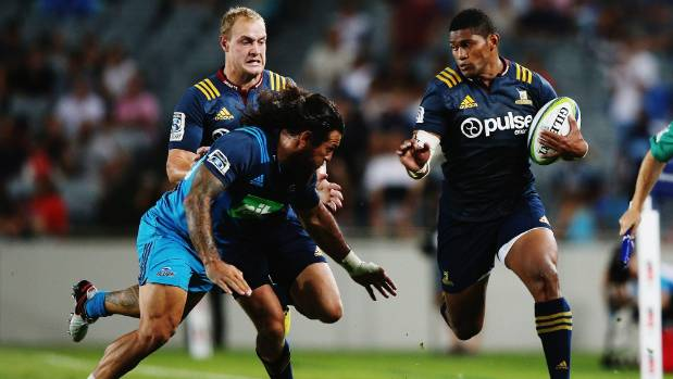 The absence of Waisake Naholo, right, hasn't knocked Super Rugby around too badly.