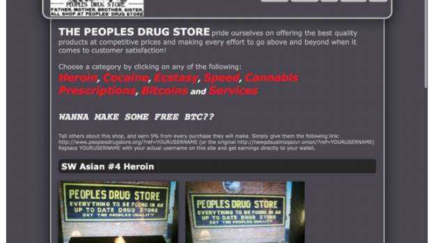 Buying and selling drugs is the most popular reason for being on the deep web