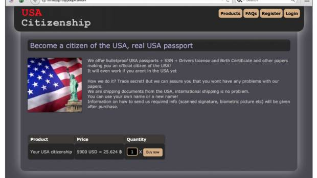 For US$6000 you can buy a citizenship to the USA