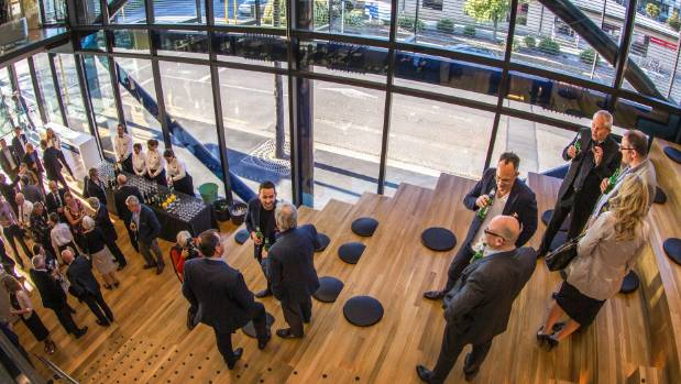 Miles Yeoman and Craig Newbury developed the new Warren and Mahoney building which opened in 2015.