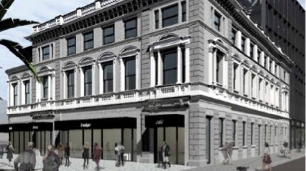 An artist's impression of how the Excelsior Hotel on Manchester St will look when it is rebuilt.