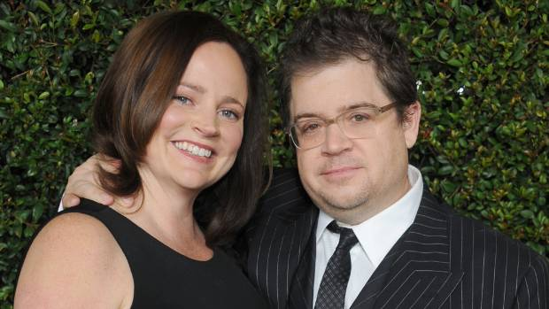 Patton Oswalt with his late wife Michelle McNamara in 2011.