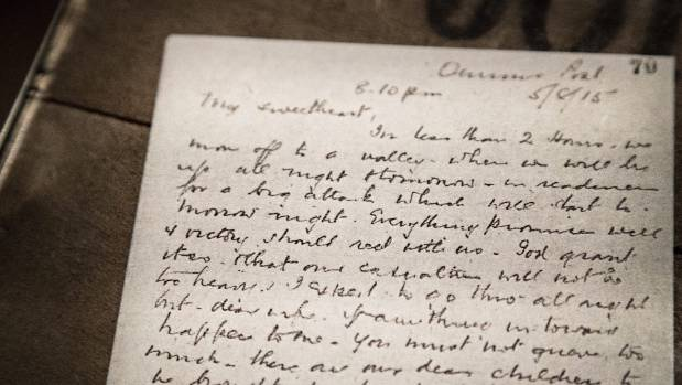 Much of the script was based on the letters Lt. Col. William Malone sent home to his wife, Ida Malone.