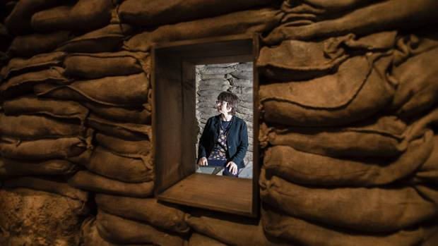Kirstie Ross sits in William Malone's Bunker listening to an actor reading Malone's last letter to his wife, in which he ...