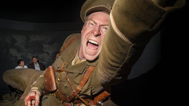 A gigantic scale model at Te Papa's Gallipoli: The Scale of Our War exhibition - the most popular in the museum's history.