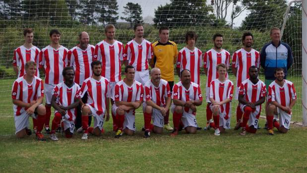Northern Wairoa made their debut in the Chatham Cup on Monday, with an avid fan watching on from Melbourne.