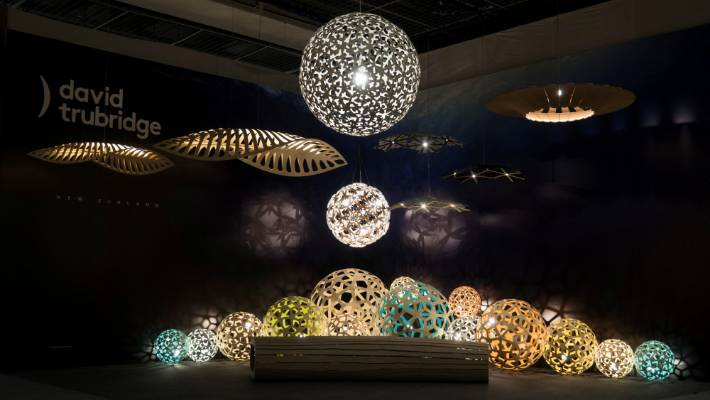 Innovative lighting from nz designers on the world stage stuff nz