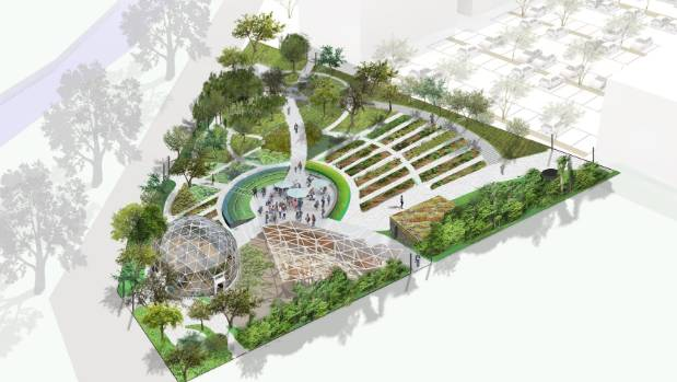 Orchard to bloom in christchurch city centre for Grow landscapes christchurch