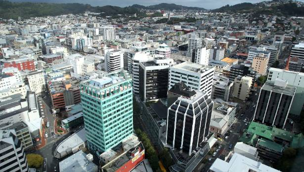 Wellington's CBD, which could be disconnected from the water supply for up to 90 days after a major earthquake.