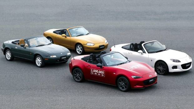 Elegant Mazda Produced The One Millionth MX 5 On April 22, 2016.