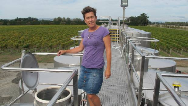 "Matahiwi winemaker Jane Cooper: ""it takes a while to gain a reputation but it's happening""."