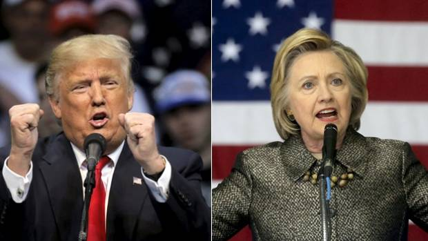 "Donald Trump vs Hillary Clinton for US President: ""New Zealanders would be most unwise to take the prospect of a Trump ..."