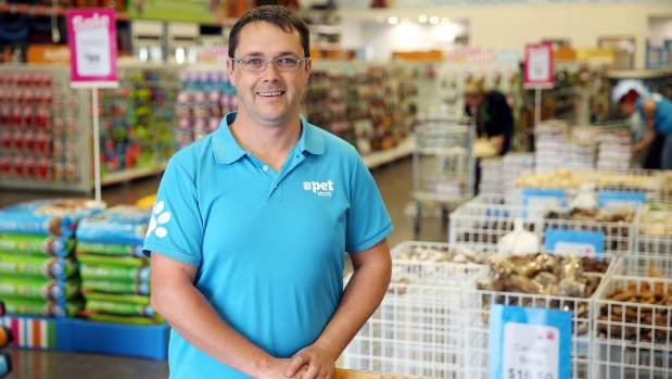 Petstock New Zealand country manager Aaron Waters has worked in the pet retail industry for 10 years.