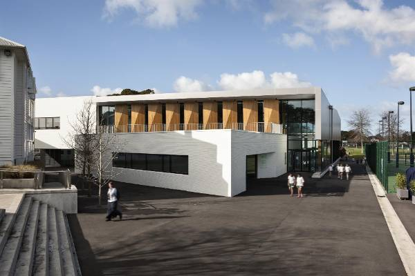 Education: St Cuthert's College Centennial Centre for Wellbeing, Epsom, by Architectus and Architecture HDT in association