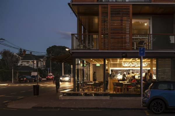 Hospitality and retail: Rosie, Parnell, by McKinney + Windeatt Architects