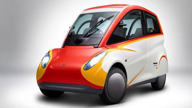 The Shell Eco Car.