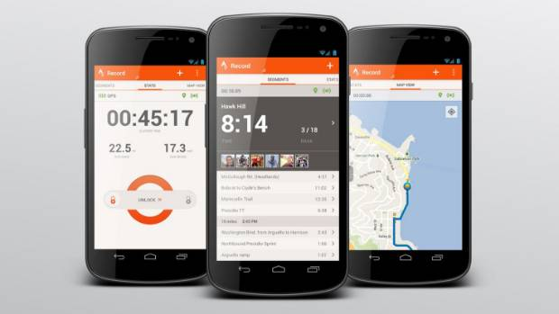 Fitness tracker Strava uses GPS tracking to log where and how fast people ride, with that information then made ...