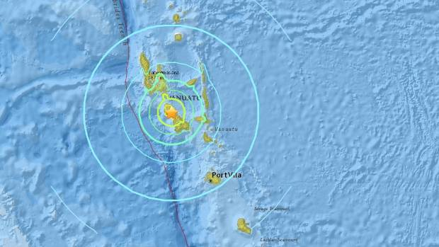 Vanuatu hit by large quake Stuffconz