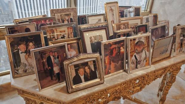 The family photos in Donald Trump's Manhattan apartment show how much he and his family regard themselves as New Yorkers.