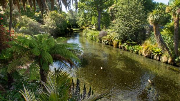 The Botanic Gardens remain a gem in Christchurch's image as a Garden City.