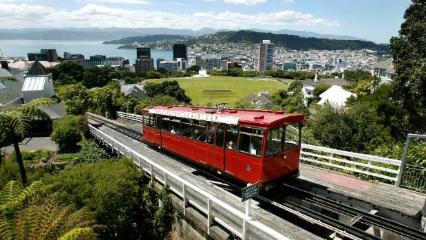 Image result for Wellington Cable Car