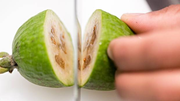 The distinctive flavour means feijoas can be quite polarising.