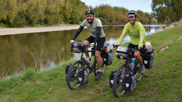 Baden and Shelley Campbell ride down the Hutt River Trail, the last leg of a 15,000km, year-long ride that has taken ...