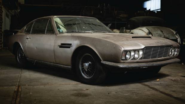 Ready For Restoration This Barn Find 1968 Aston Martin DBS Is Headed