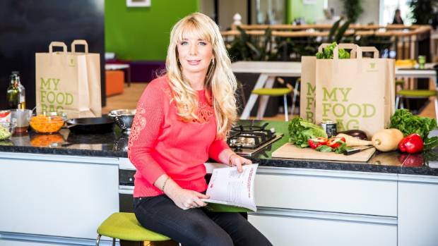 """My Food Bag co-chief executive Cecilia Robinson says the company is experiencing """"phenomenal"""" growth."""