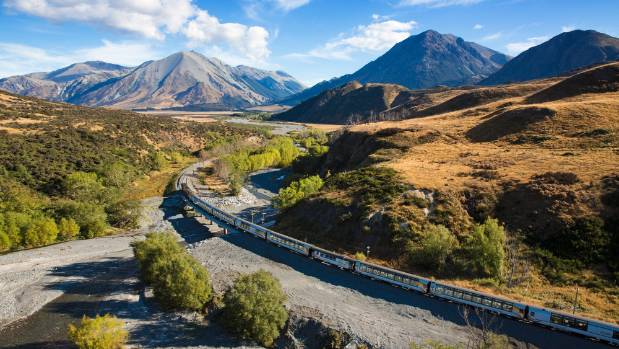 Keep your camera out at all times on the TranzAlpine.