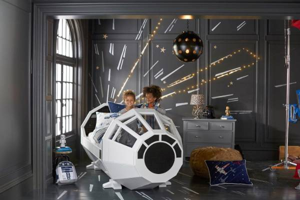 Star Wars Themed Rooms Continue To Appeal To Young And Old.