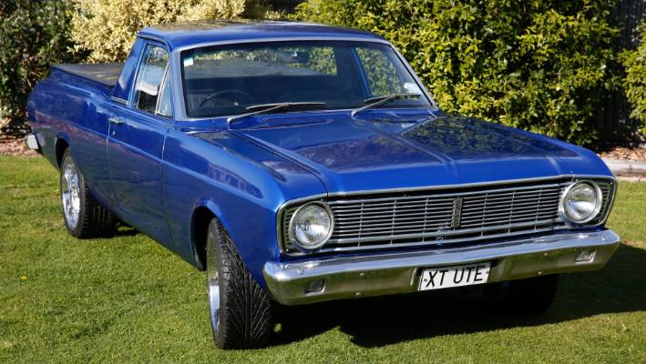 Driving A Classic 1968 Xt Ford Falcon Ute Is Driving A Real Car