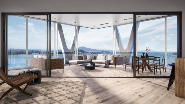 Spacious interiors will be a feature of all the apartments, especially the penthouses, which will be a massive 424 ...