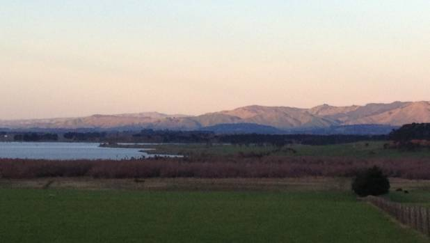 Part of Wairarapa Moana Wetlands, photo taken near James Cameron's property, which borders important elements of the ...