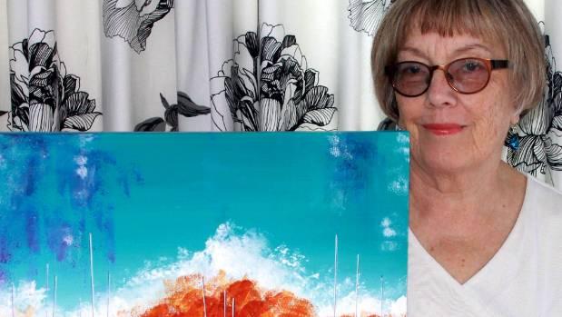Artist Gill Allsop.