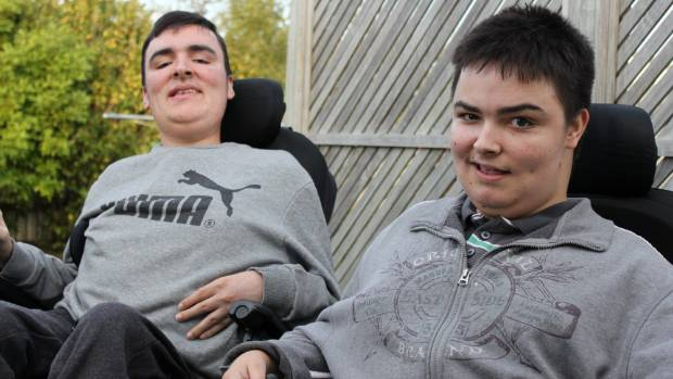 Hamish Taylor, 20, left, and Austin Taylor, 17.
