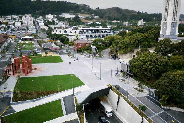 The Pukeahu National War Memorial Park by Wraight + Athfield Landscape and  Architecture.