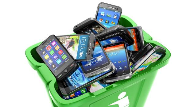 Got any old, unused mobile phones? Recycle them, so they don't end up in landfills.