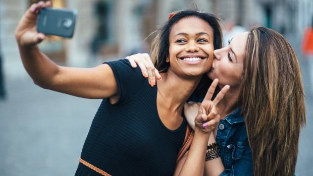 One study in the book shows that the more selfies people take, the less sex they have.