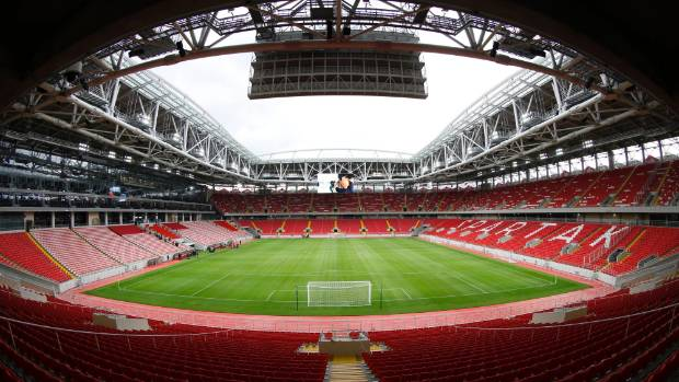 Another of Russia's stadiums, the Otkrytie Arena, was completed in 2014.