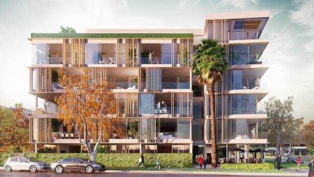 About 80 per cent of the 58 apartments at St Mark's in Remuera have sold.