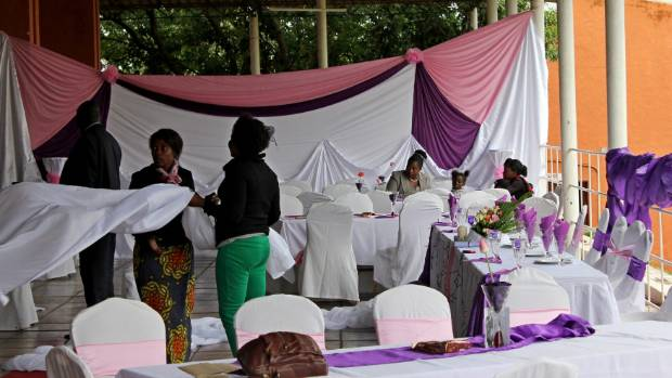 A zambian wedding a tale of united nations stuff n theory the lusaka wedding of rachel and atkins should have started half an hour before junglespirit Image collections