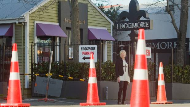 Rosie Austin, owner of Frogmore, says having a Victoria St business hasn't been easy since the earthquakes. A council ...
