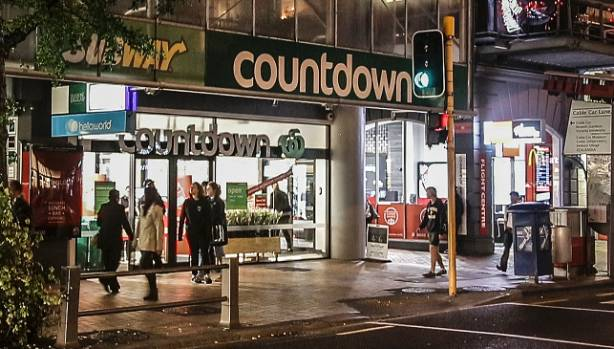 The new Countdown store, on the corner of Lambton Quay and Cable Car Lane, was a $6.4m investment.