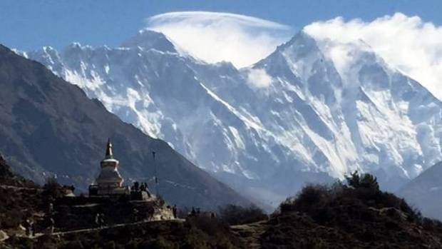 Tengboche monastery, on the route to Everest base camp.