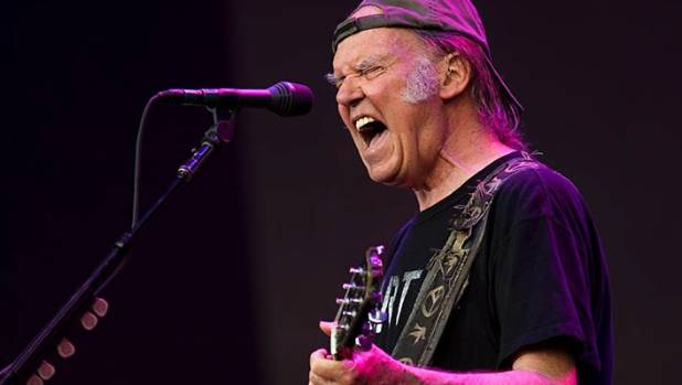 Neil Young is one of Simon Sweetman's heroes.
