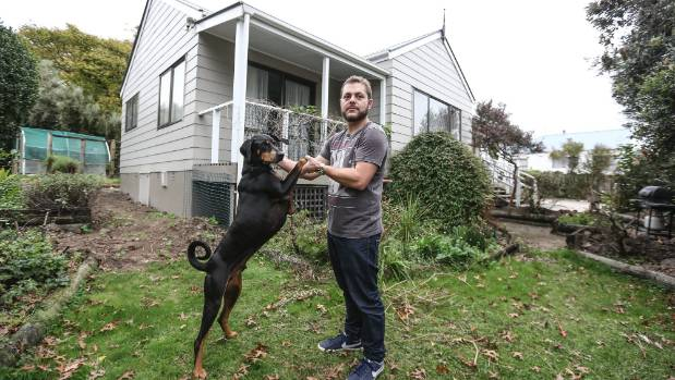 Ryan Daum said he wanted his own place with a shed and a lawn for his dog Rex to run around in.