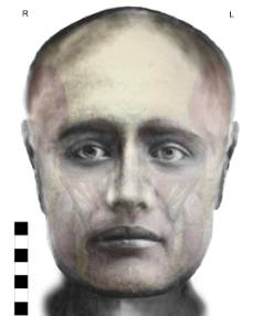 """A facial reconstruction of a woman buried at Wairau Bar was released in 2010. Local descendants call her """"Aunty""""."""