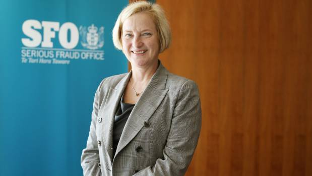The SFO alleges that the defendants conspired to mislead ANZ, says SFO director Julie Read.